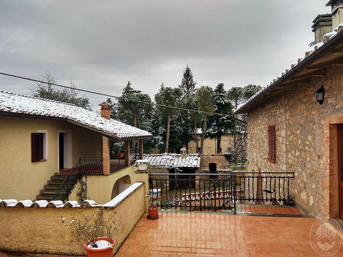 Villa e ristorante a CASOLE D'ELSA in loc. Mucellena-Maggiano 61