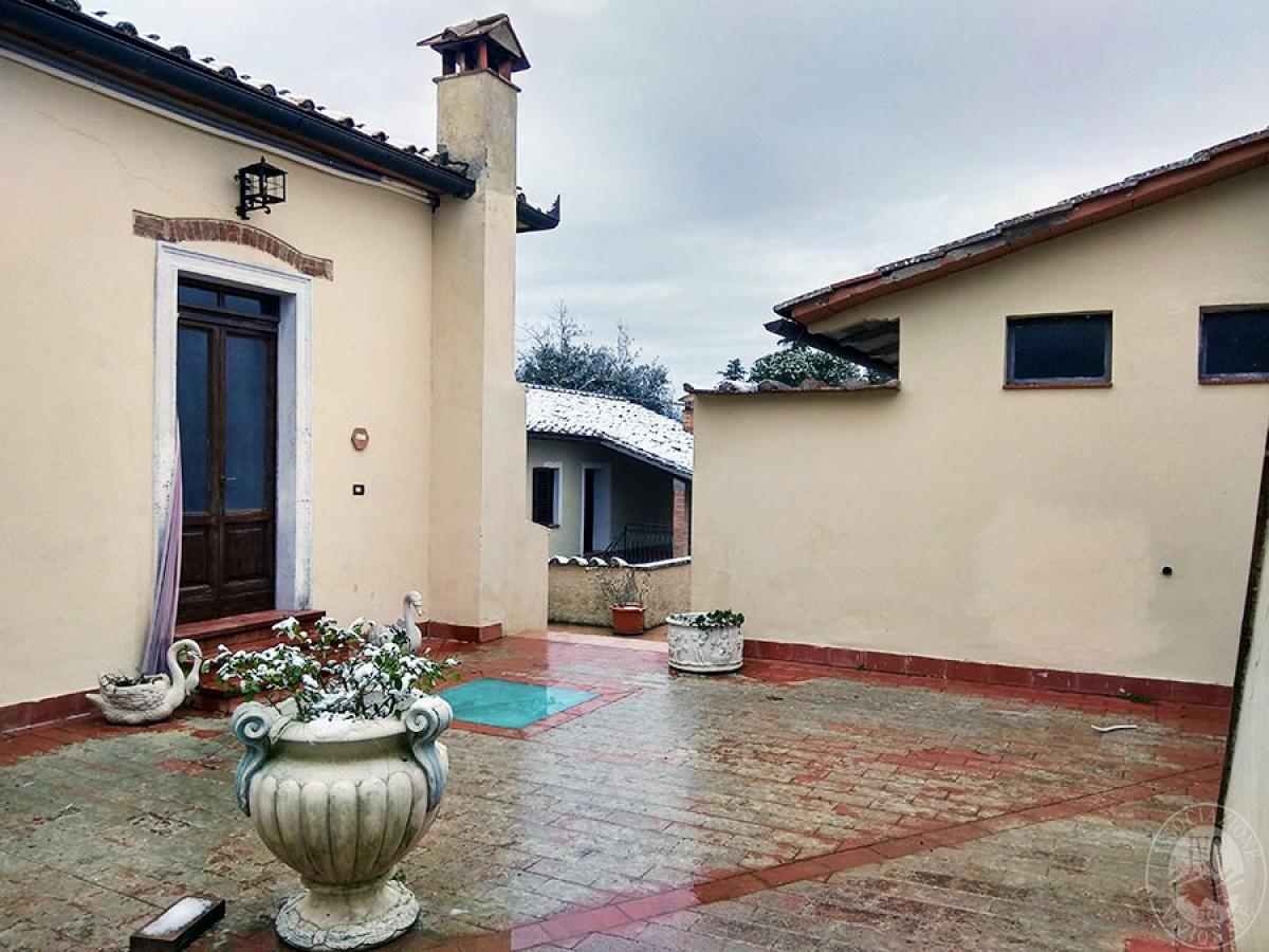 Villa e ristorante a CASOLE D'ELSA in loc. Mucellena-Maggiano 60