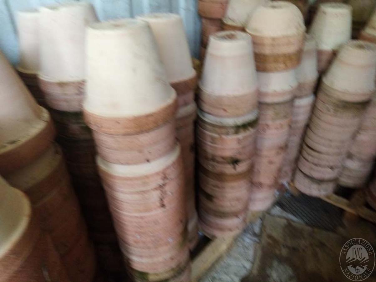 Lotto 5B) N. 500 vasi in terracotta     GARA ONLINE 18 GIUGNO 2021 1
