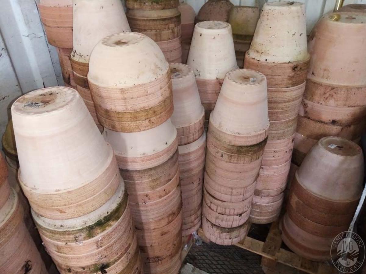 Lotto 5B) N. 500 vasi in terracotta     GARA ONLINE 18 GIUGNO 2021 2