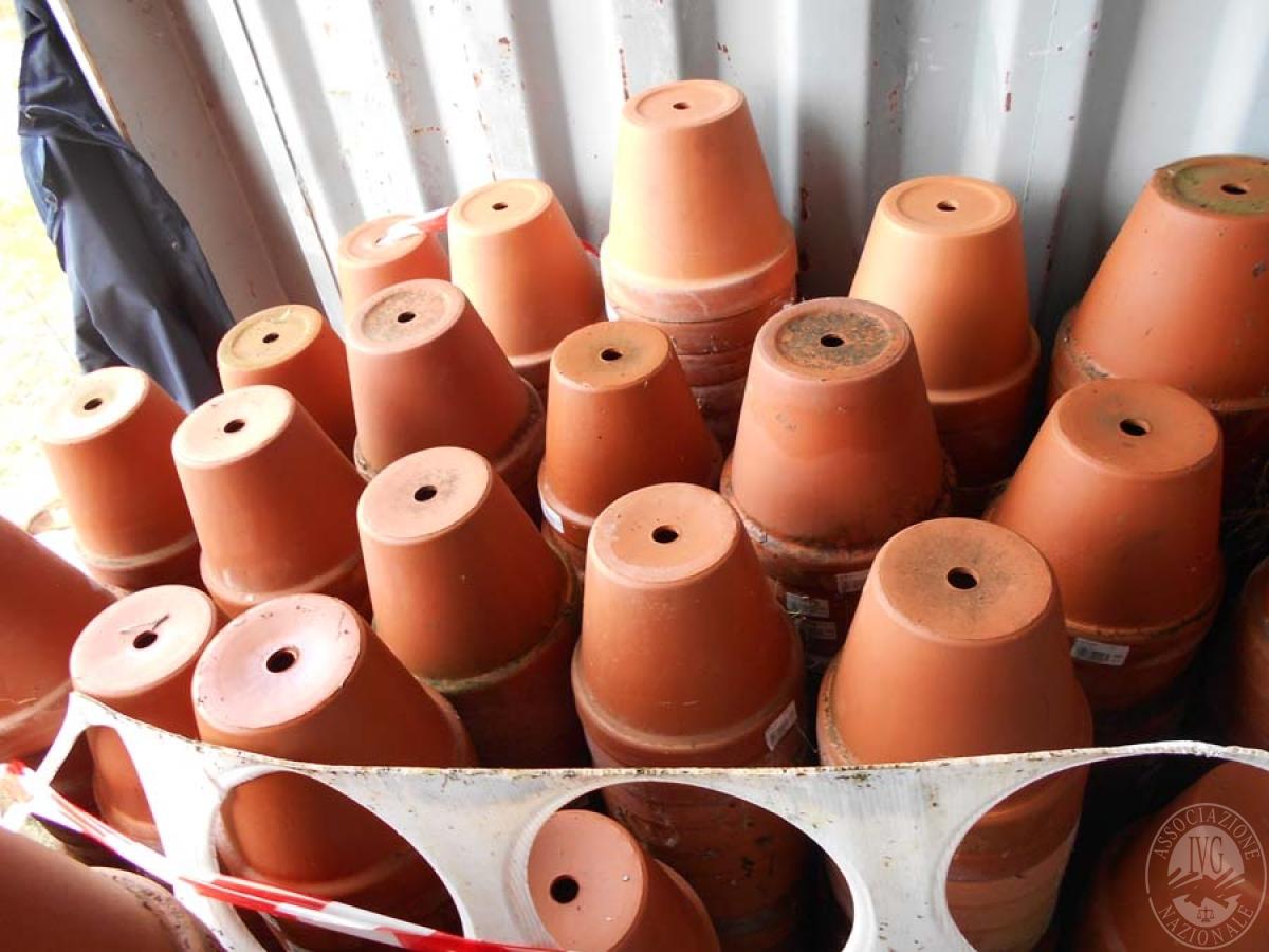 Lotto 4D) N. 500 vasi in terracotta     GARA ONLINE 22 OTTOBRE 2021 0