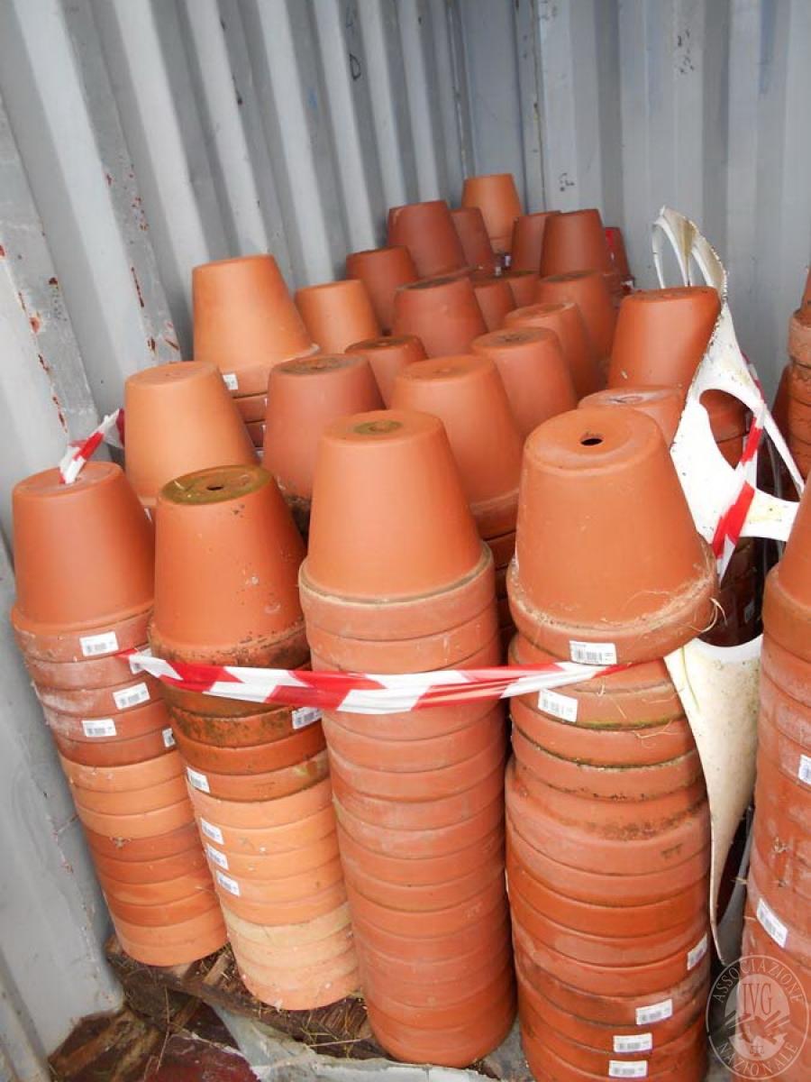 Lotto 4D) N. 500 vasi in terracotta     GARA ONLINE 22 OTTOBRE 2021 1