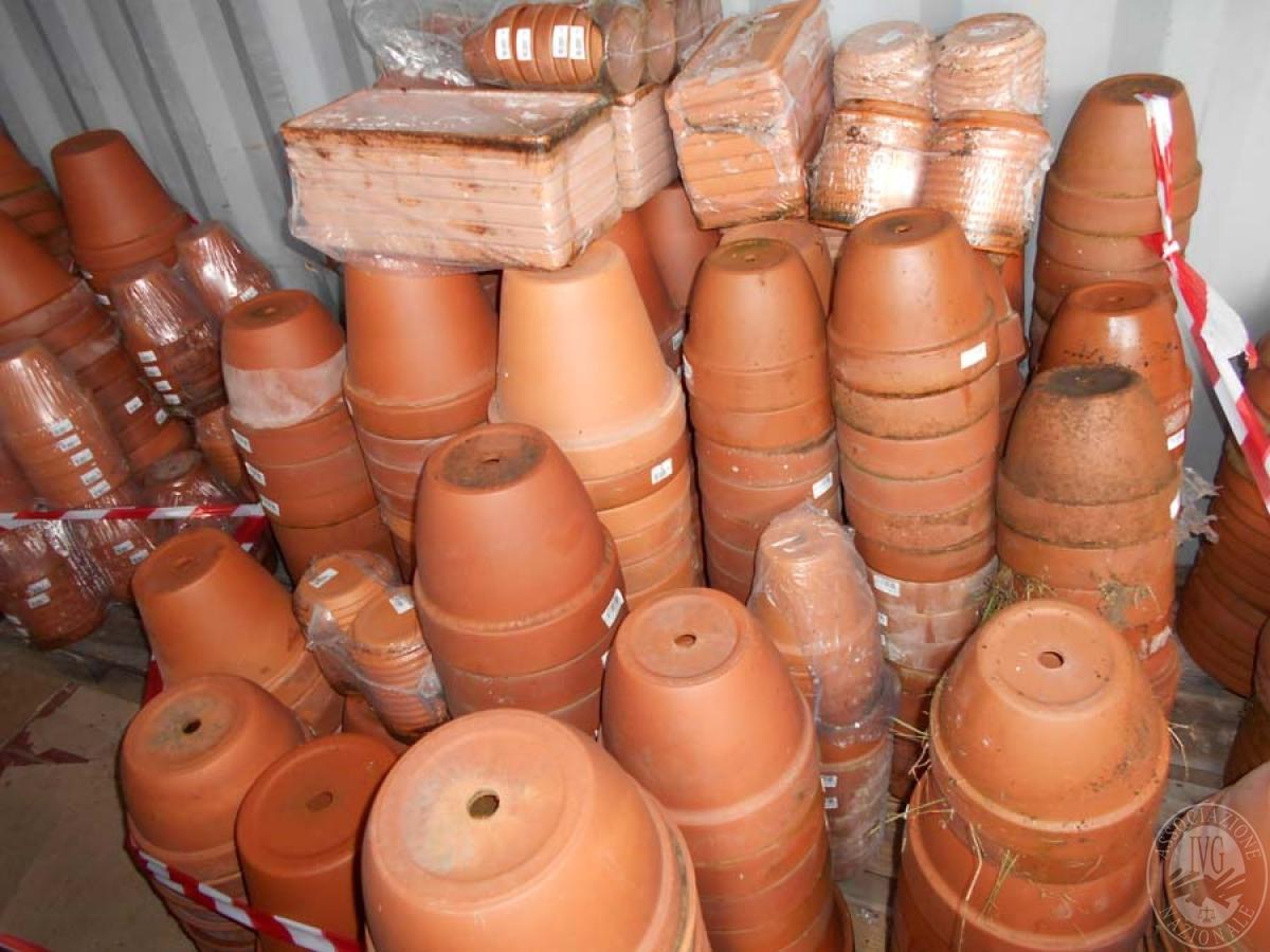 Lotto 4G) N. 500 vasi in terracotta     GARA ONLINE 18 GIUGNO 2021