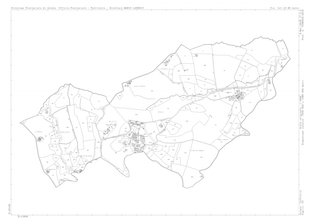 Borgo a CAVRIGLIA in loc. Fontebussi - Lotto 2 25