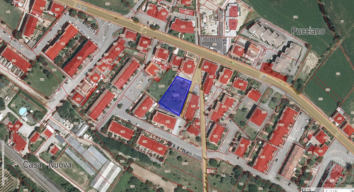 Terreno edificabile a MONTEVARCHI, via Parri - lotto 13