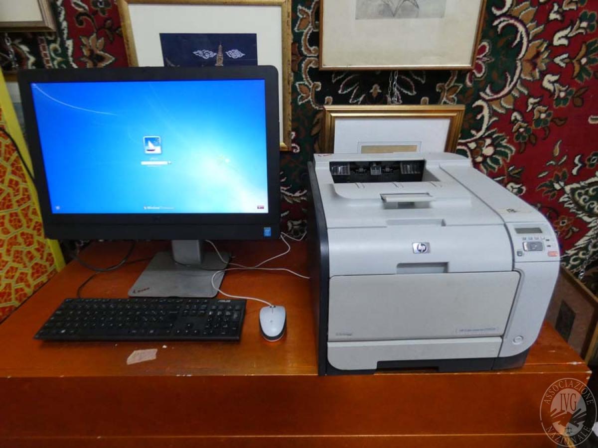 Rif. 1) Computer DELL + stampante    GARA ONLINE 1 OTTOBRE 2021