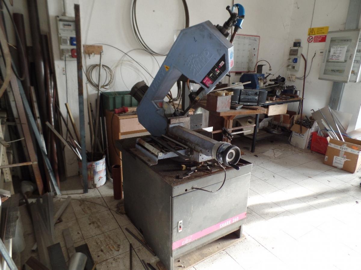 Lotto 1) Attrezzatura per lavorazione ferro e metallo   GARA ONLINE 14 MAGGIO 2021