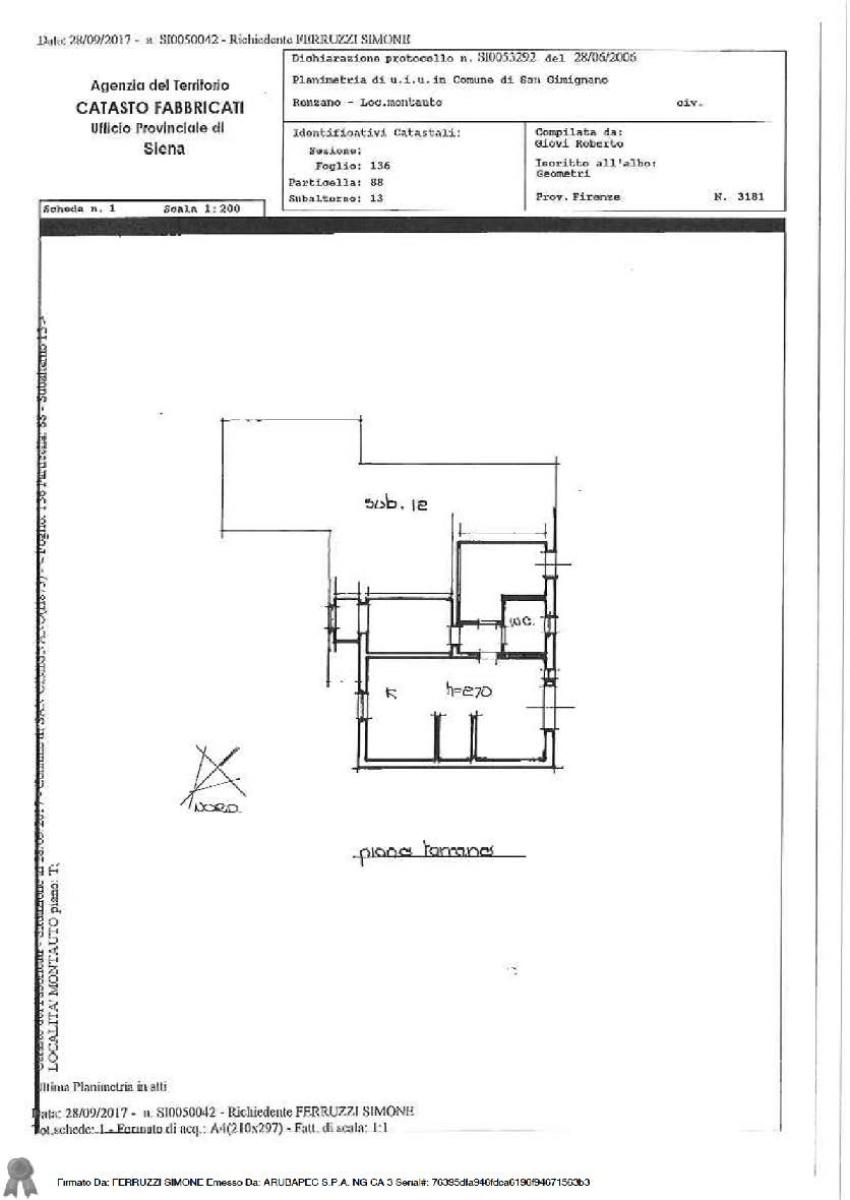 Appartamento a SAN GIMIGNANO in loc. Montauto - Lotto 1 5