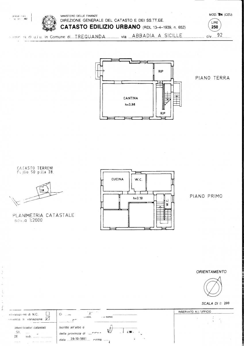 Terratetto a TREQUANDA in loc. Villa Abbadia Sicille 44