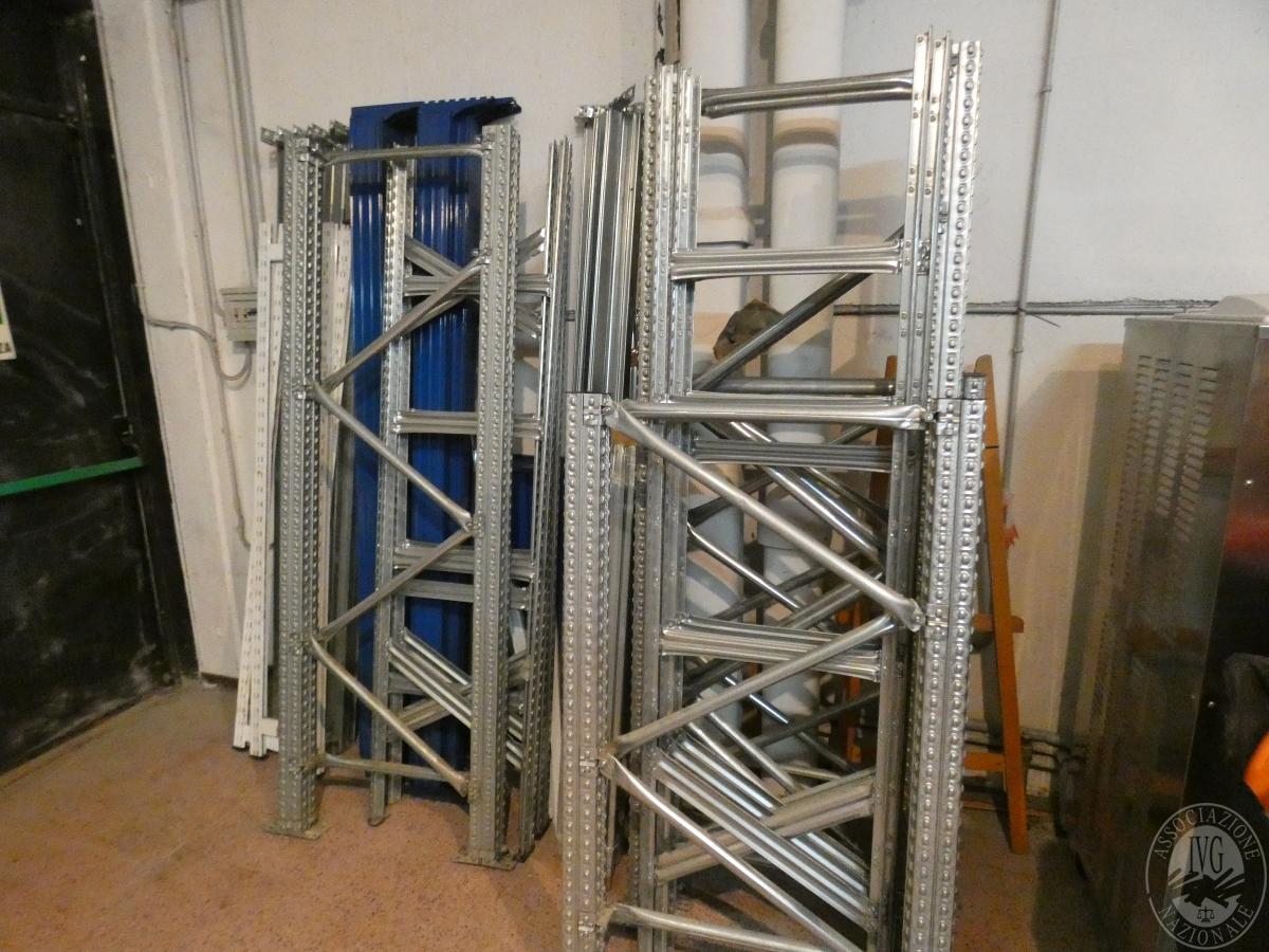 Rif. 36 + altri) Scaffalatura in acciaio    GARA ONLINE 21 MAGGIO 2021