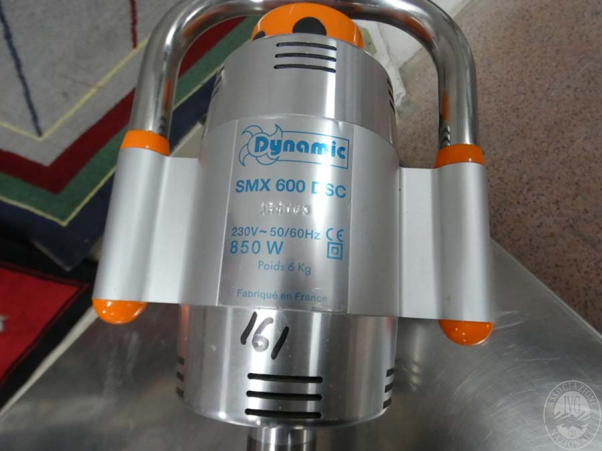 Rif. 161) Frullatore ad immersione con supporto    GARA ONLINE 21 MAGGIO 2021 2