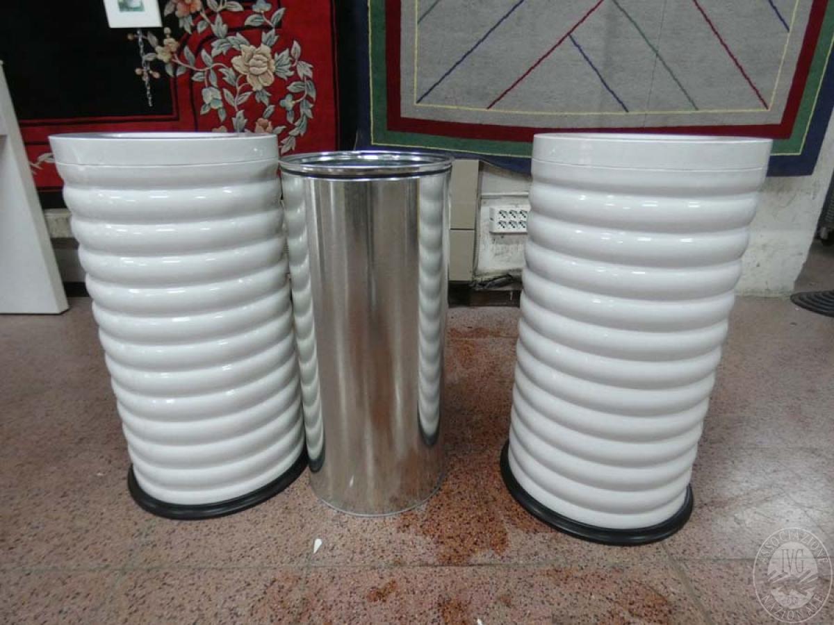 Rif. 77 + 145) Bidoni in acciaio inox + bidoni in plastica    GARA ONLINE 21 MAGGIO 2021