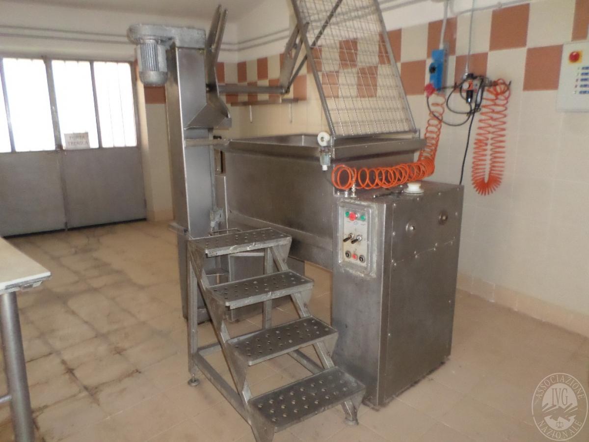 Arredo ed attrezzature per la lavorazione della carne   GARA ONLINE 13 OTTOBRE 2021 1