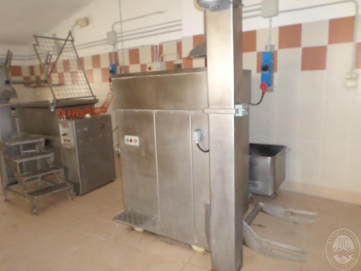 Arredo ed attrezzature per la lavorazione della carne   GARA ONLINE 13 OTTOBRE 2021 0
