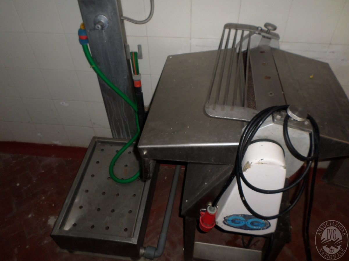 Arredo ed attrezzature per la lavorazione della carne   GARA ONLINE 13 OTTOBRE 2021 9
