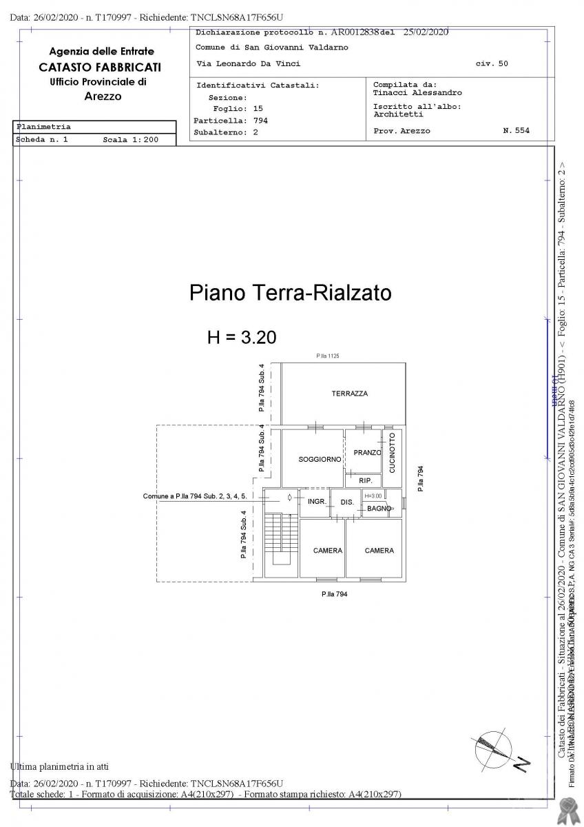 Appartamento a San Giovanni Valdarno in Via Leonardo Da Vinci - Lotto 1 18