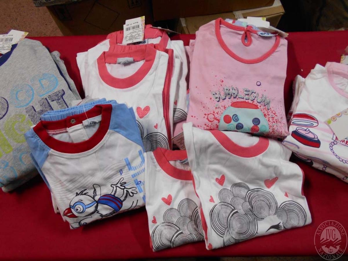 Circa 560 capi di abbigliamento da bambino, NUOVO   GARA ONLINE 21 MAGGIO 2021
