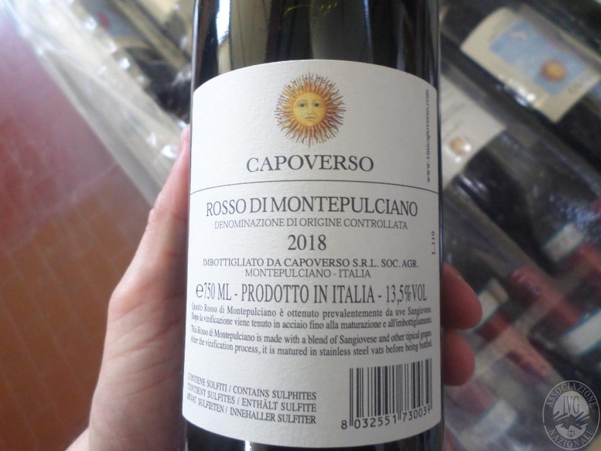 Lotto 26) N. 396 bottiglie di Rosso di Montepulciano    GARA ONLINE 13 LUGLIO 2021 0