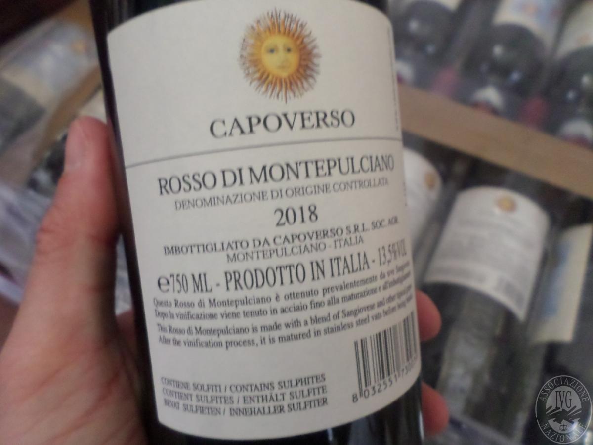 Lotto 30) N. 413 bottiglie di Rosso di Montepulciano     GARA ONLINE 13 LUGLIO 2021 0