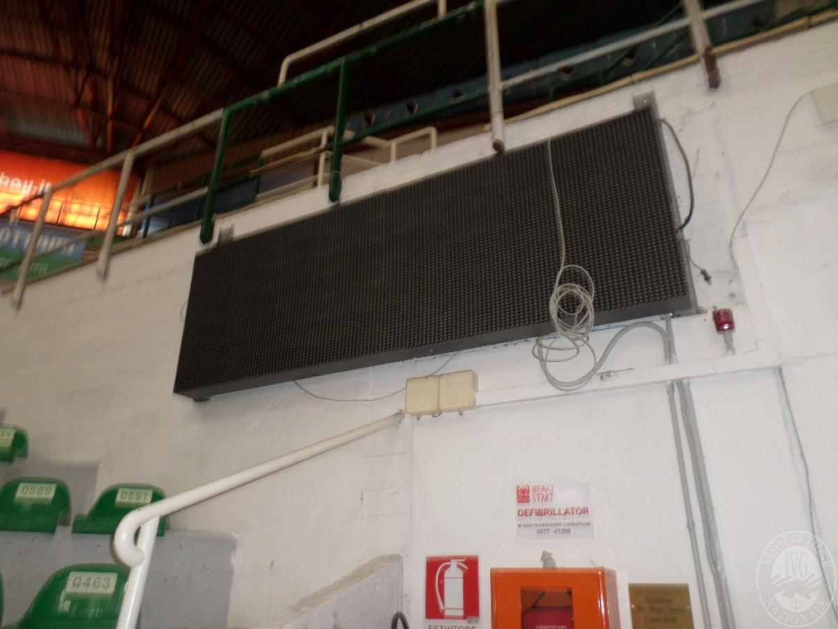 LOTTO 1) tabellone piramidale, 37 metri banner bordocampo, sistema audio    GARA ONLINE 18 GIUGNO 2021 4
