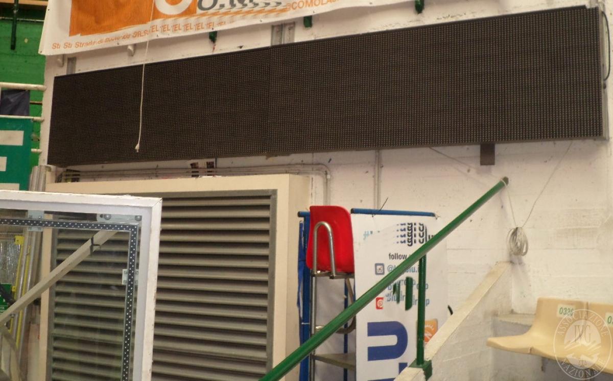 LOTTO 1) tabellone piramidale, 37 metri banner bordocampo, sistema audio    GARA ONLINE 18 GIUGNO 2021 10
