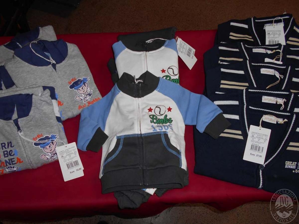 Circa 520 capi di abbigliamento da bambino, NUOVO   GARA ONLINE 21 MAGGIO 2021 0