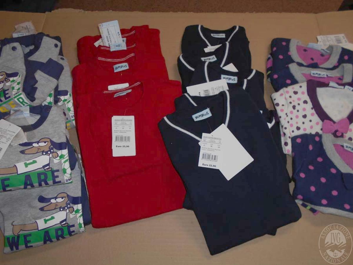 Circa 520 capi di abbigliamento da bambino, NUOVO   GARA ONLINE 21 MAGGIO 2021 2