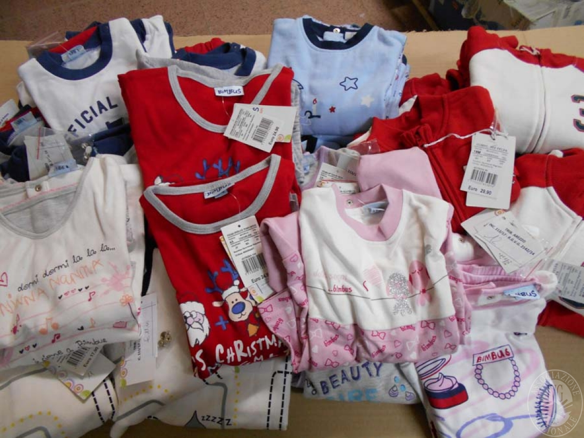 Circa 520 capi di abbigliamento da bambino, NUOVO   GARA ONLINE 21 MAGGIO 2021 18