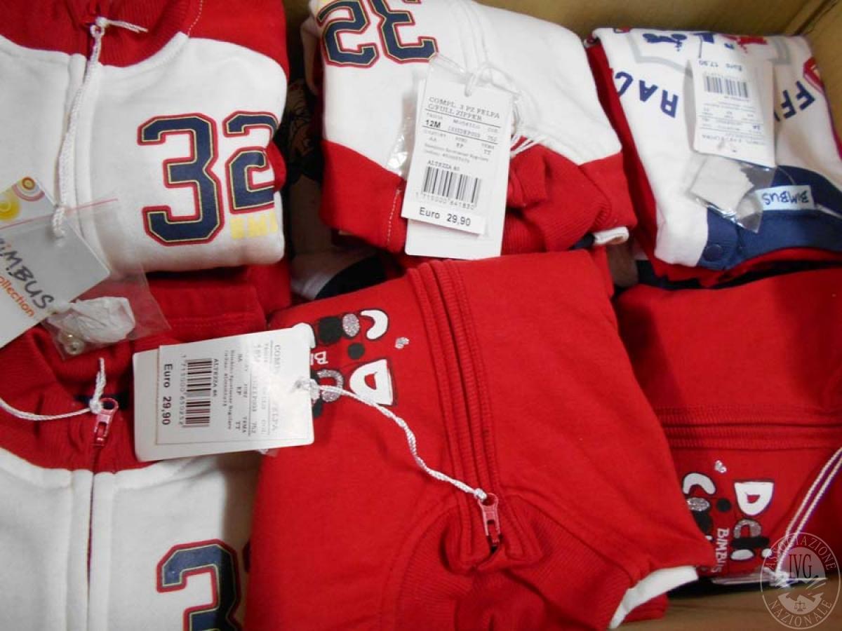 Circa 520 capi di abbigliamento da bambino, NUOVO   GARA ONLINE 21 MAGGIO 2021 19