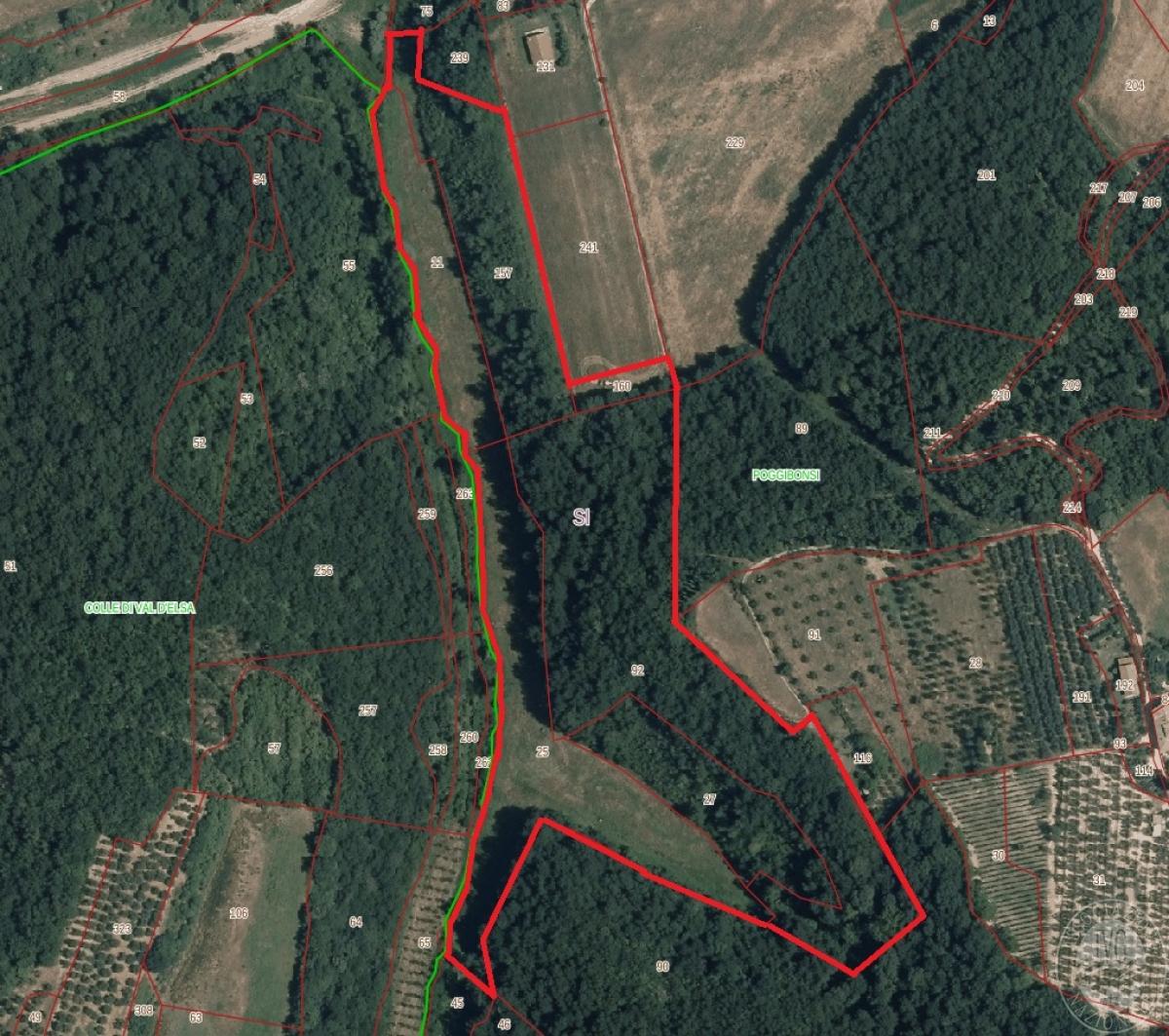 Terreno a Poggibonsi in zona artigianale Fosci - Lotto 2