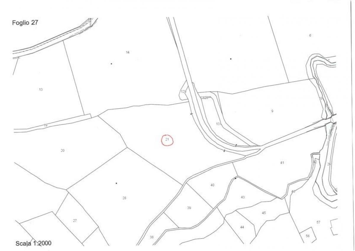 Terreno agricolo a Colle di Val d'Elsa in loc. Bagnoli - Lotto D 0