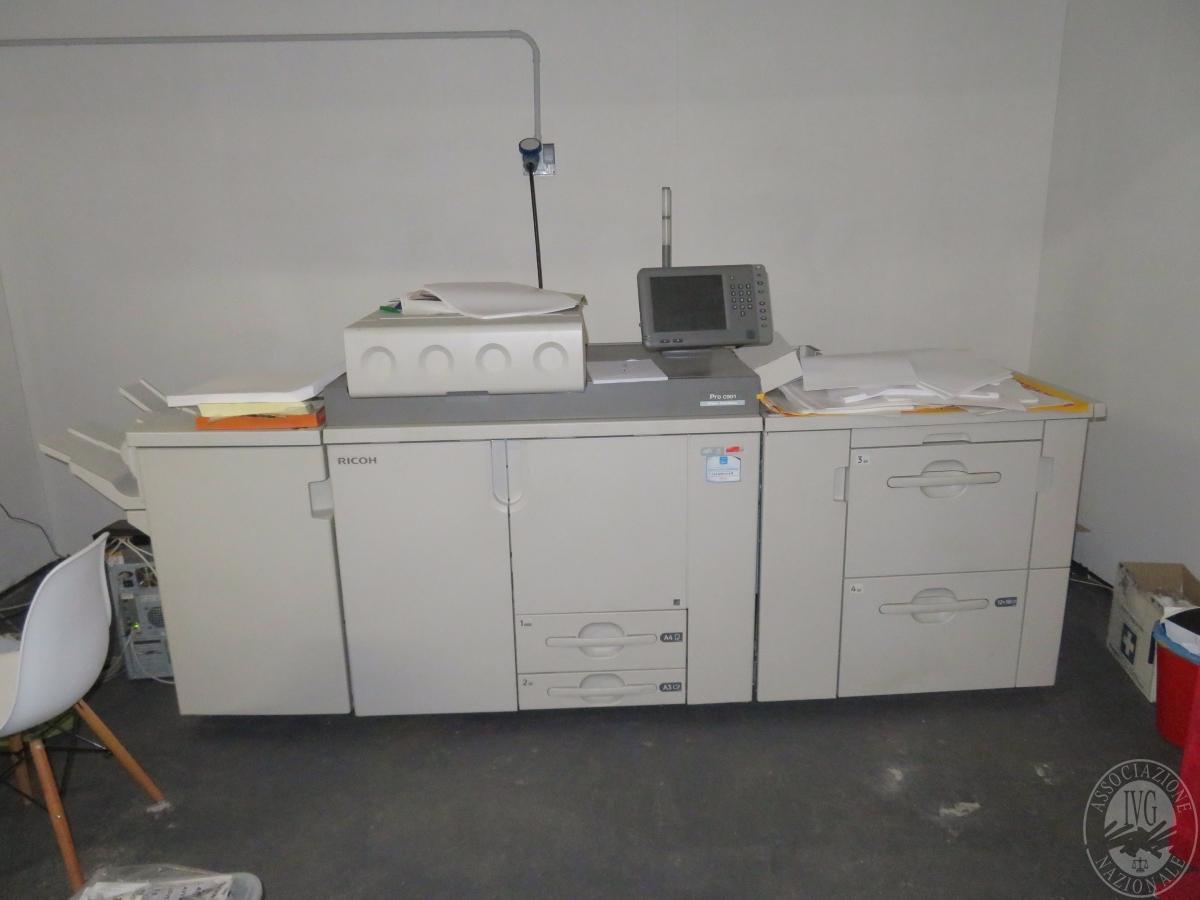 N. 2 stampanti professionali + calandra   GARA ONLINE 29 OTTOBRE 2021