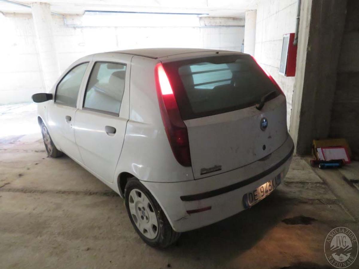 Lotto 1) Autocarro Fiat Punto   GARA ONLINE 25 GIUGNO 2021 2