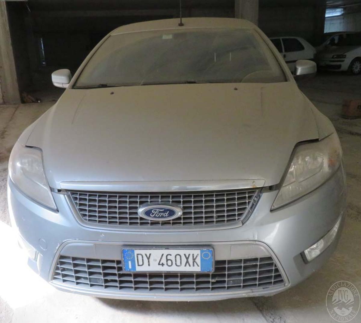 Lotto 12) Autovettura Ford Mondeo Familiare     GARA ONLINE 25 GIUGNO 2021