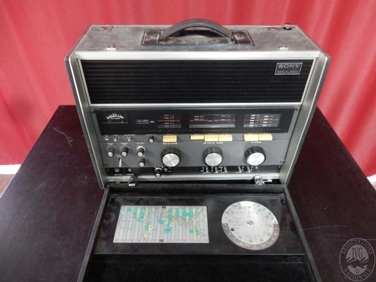 Rif. 8) Sistema audio/ricezione SONY   GARA ONLINE 13 LUGLIO 2021