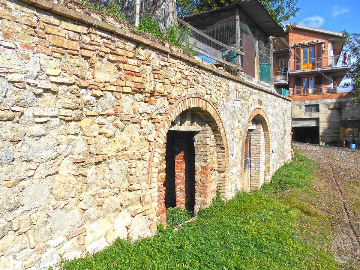 Capanno rurale, cantina e terreni a San Gimignano in loc. Lucignano - Lotto 1