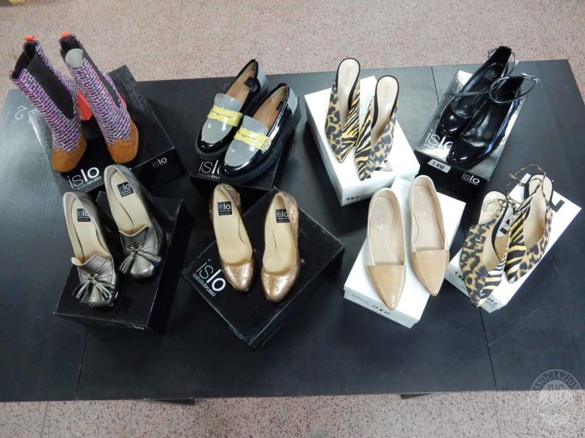 Lotto 2) N. 8 paia di scarpe da donna    GARA ONLINE 12 NOVEMBRE 2021