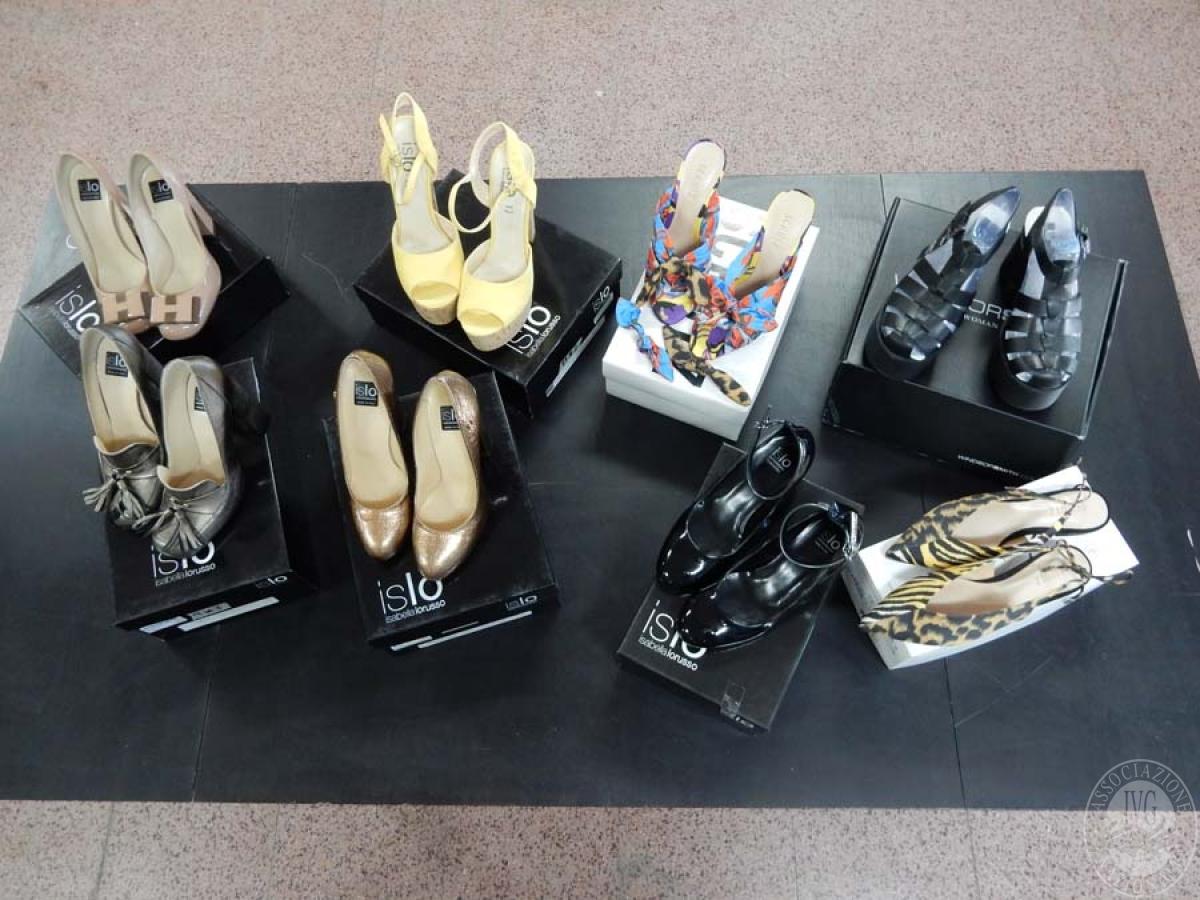 Lotto 3) N. 8 paia di scarpe da donna    GARA ONLINE 12 NOVEMBRE 2021