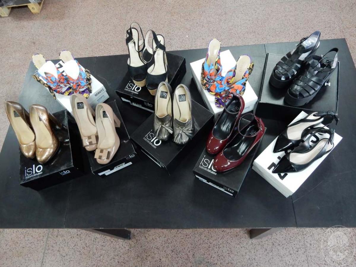 Lotto 4) N. 9 paia di scarpe da donna    GARA ONLINE 12 NOVEMBRE 2021