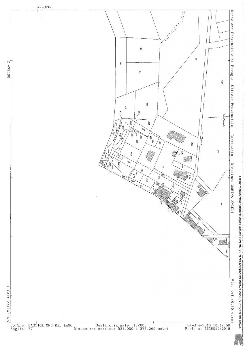 Terreno a CASTIGLIONE DEL LAGO (PG), Frazione Il Porto  - LOTTO 20