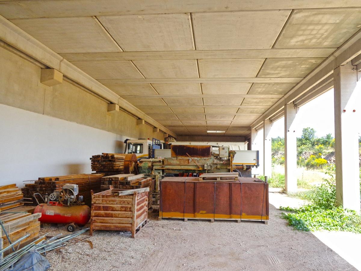 Laboratori e terreni a Trequanda in località Madonnino dei Monti 13