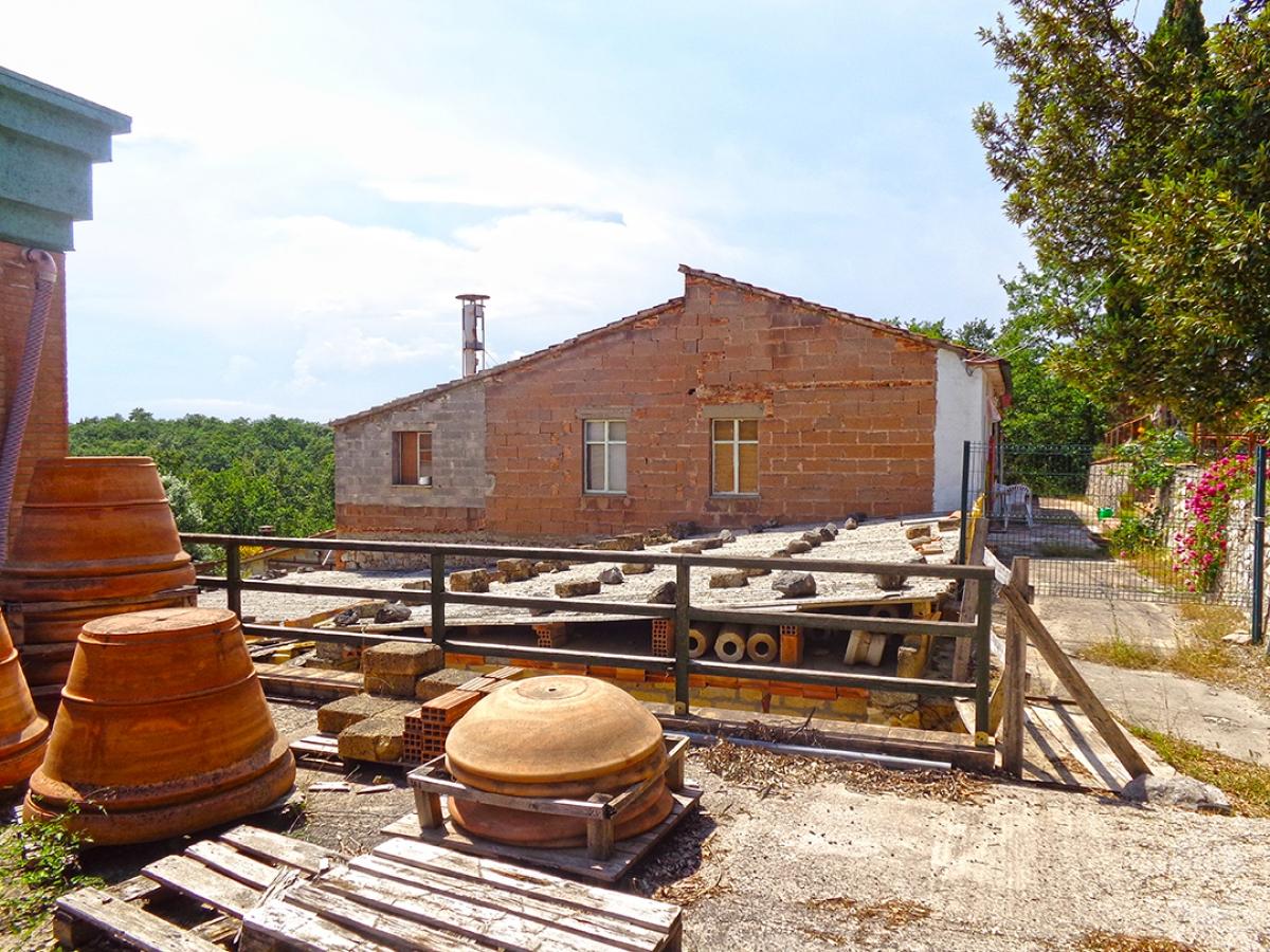 Laboratori e terreni a Trequanda in località Madonnino dei Monti 23