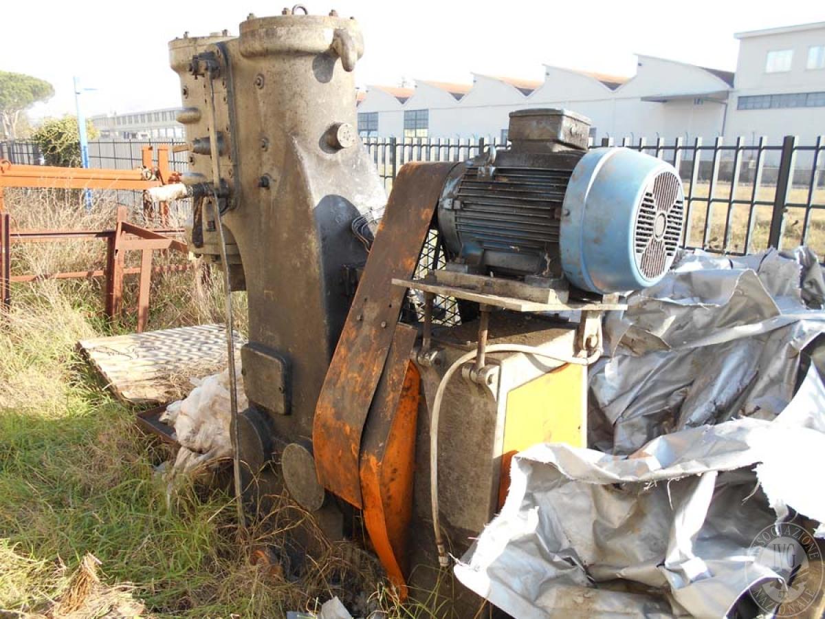 Maglio compressore + macchinari per la lavorazione del ferro, etc.   GARA ONLINE 29 OTTOBRE 2021 5
