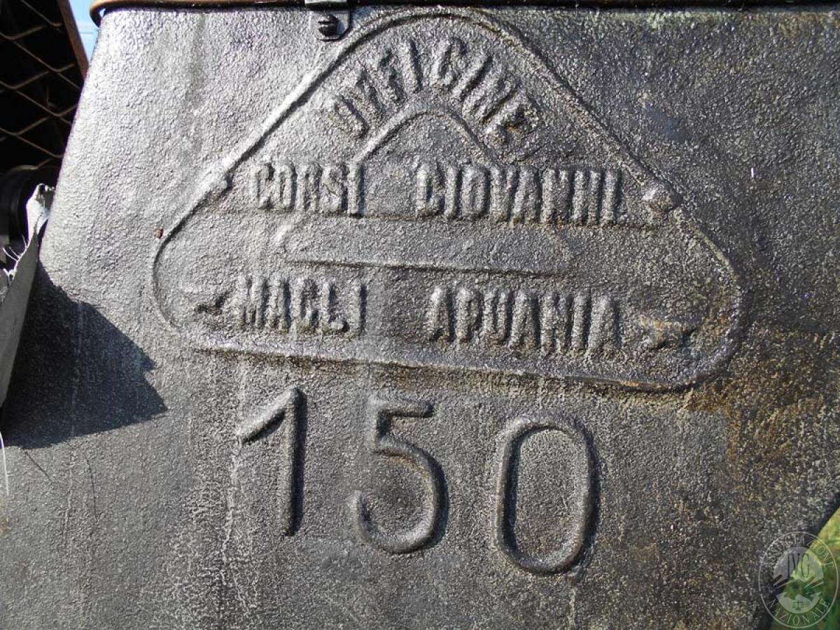 Maglio compressore + macchinari per la lavorazione del ferro, etc.   GARA ONLINE 29 OTTOBRE 2021 7