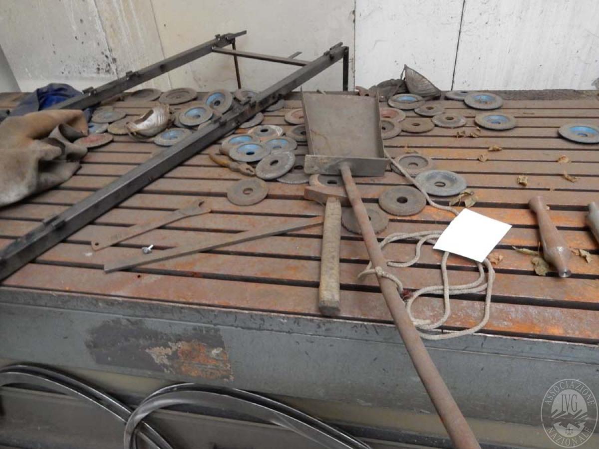 Maglio compressore + macchinari per la lavorazione del ferro, etc.   GARA ONLINE 29 OTTOBRE 2021 26