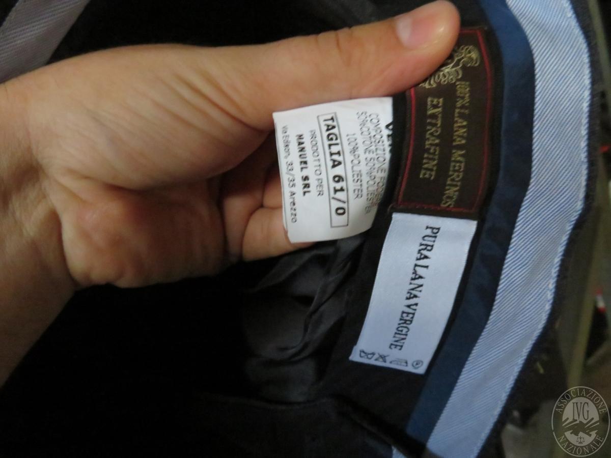 Circa n. 515 giacche + 221 completi uomo    GARA ONLINE 22 OTTOBRE 2021 10