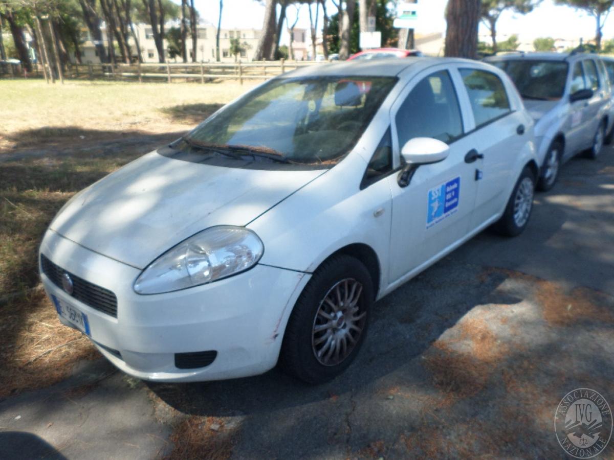 Fiat Punto anno 2012   GARA ONLINE 15 SETTEMBRE 2021