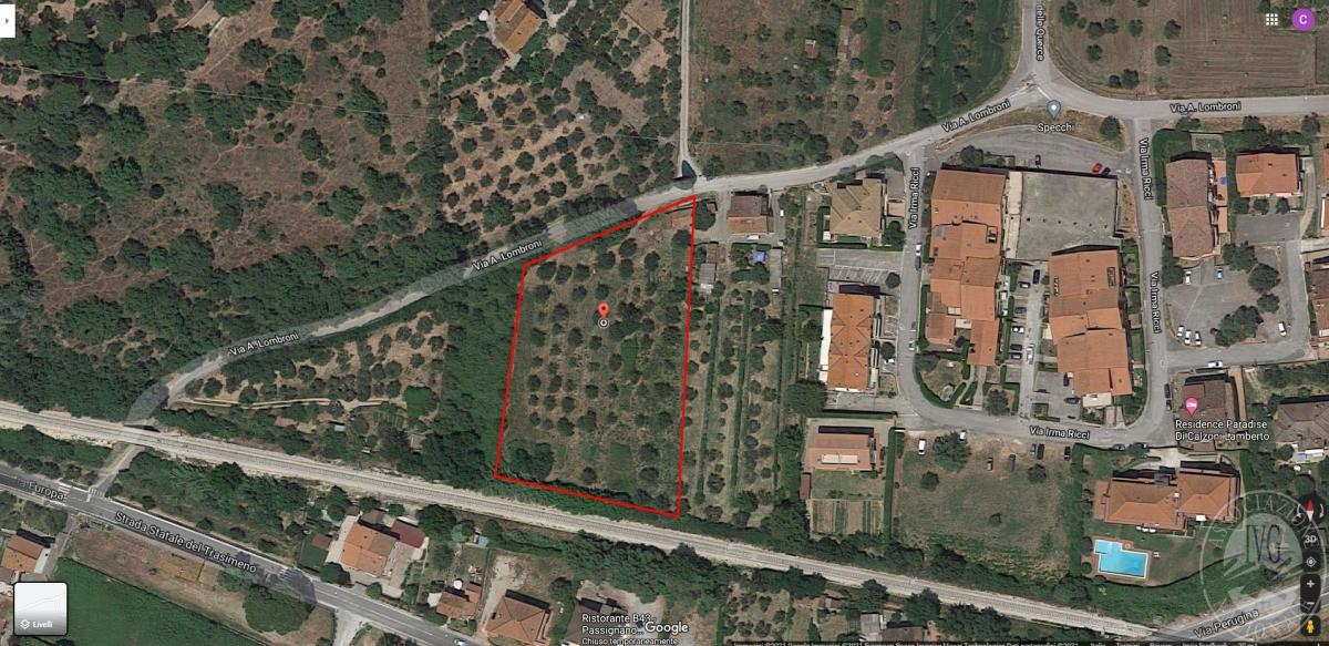 Terreno a Passignano sul TRASIMENO, VIA LOMBRONI - LOTTO 2