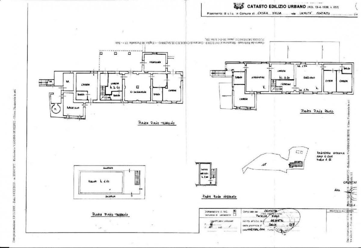 Appartamenti e terreni a Casole d'Elsa in Loc. Monatuto 42