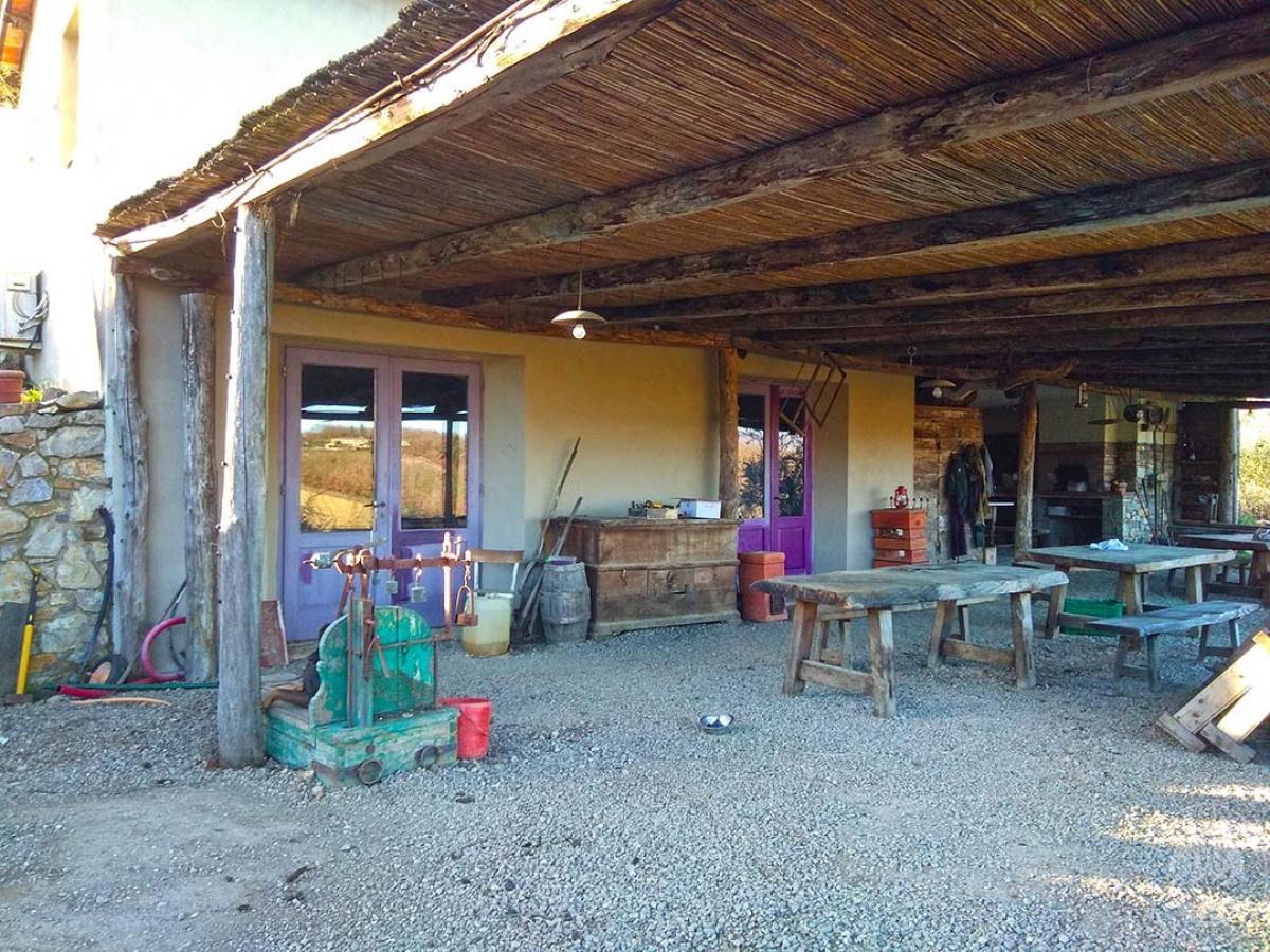 Fabbricato agricolo a Gaiole in Chianti in Loc. Poggio San Polo 2